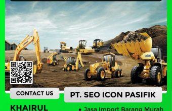 Jasa Import Alat Berat   Forwarder Import Alat Berat