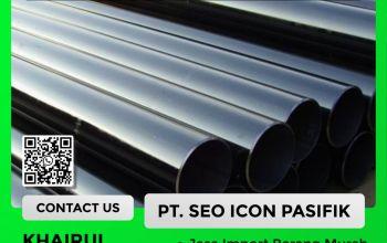 Jasa Import Carbon Steel Pipa | Undername PI Besi Baja
