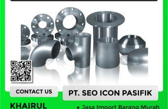 Jasa Import Fitting   Undername PI Besi Baja