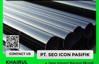 Jasa Import Carbon Steel Pipa   Undername PI Besi Baja